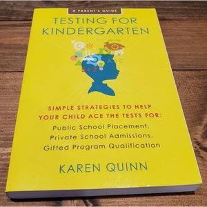 Other - Testing for Kindergarten Karen Quinn Children Kids